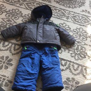 Carters winter coat a snow pants